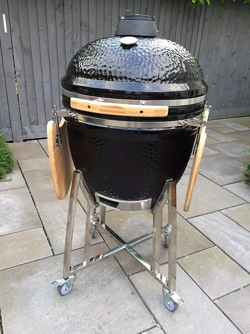 steakstones kamado smoker & grill (ss00ksg) - steakstones