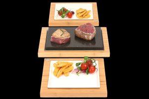 The Steak Sharer with Serving Sets